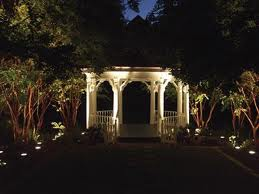 Uplighting an Outdoor Space
