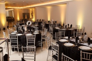 Yellow, Black, White, and Silver Reception